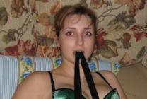 femme amatrice de bondage