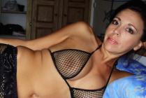 une mature nue en lingerie sexy